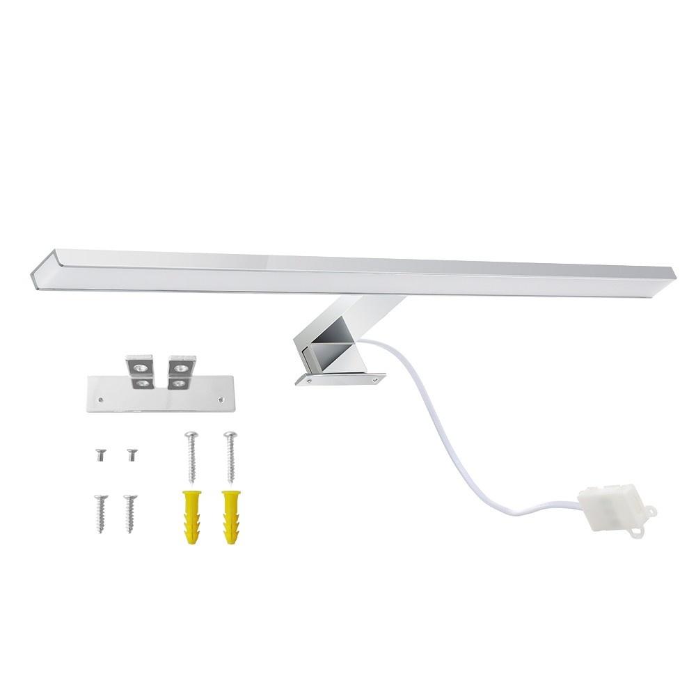 LED Mirror Lights Bathroom Cabinet Light Make-up Mirror Lights Wall Lamp Vanity Light IP44 10W 800LM 4000K Neutral White Product Length: 600mm