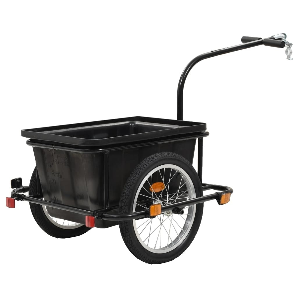 Bicycle Trailer 50 L Black