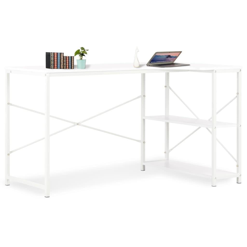 Computer desk White 120 x 72 x 70 cm