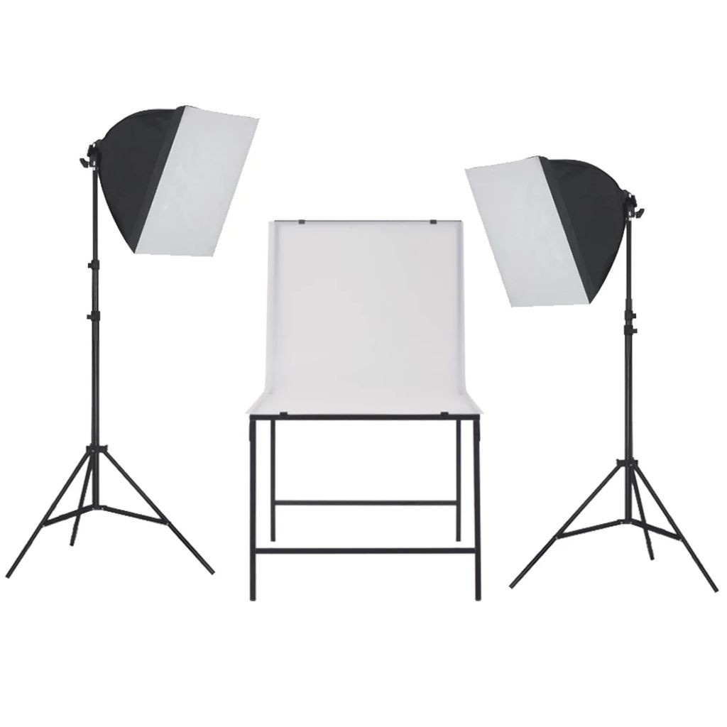 Photo studio kit with photo taking table