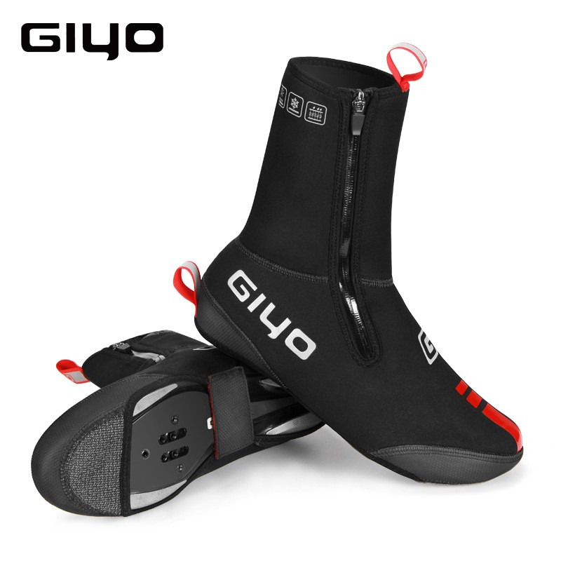 GIYO Outdoor Windproof Waterproof Dustproof MTB Rode Cycling Thick Mixed Color Matt Finish Shoe Cover