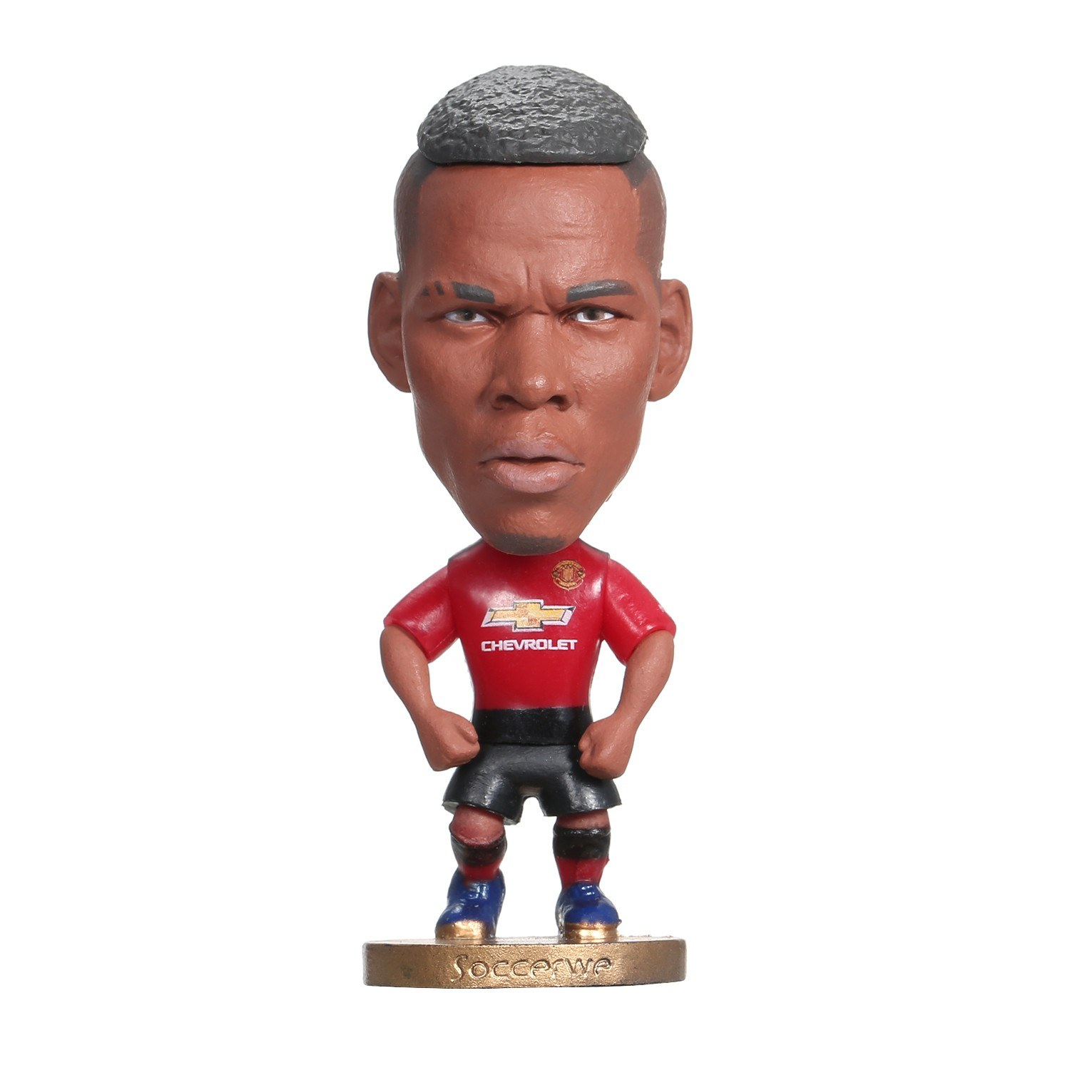 Classic Soccer Star Hand Model Doll Decoration Vinyl Action Figure Collection Toy Gift for Vehicle Home Office Decoration