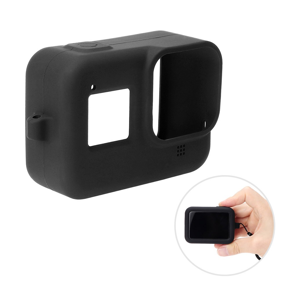 Silicone Rubber Protective Housing Case Shell with Lanyard Compatible with GoPro Hero 8 Action Camera
