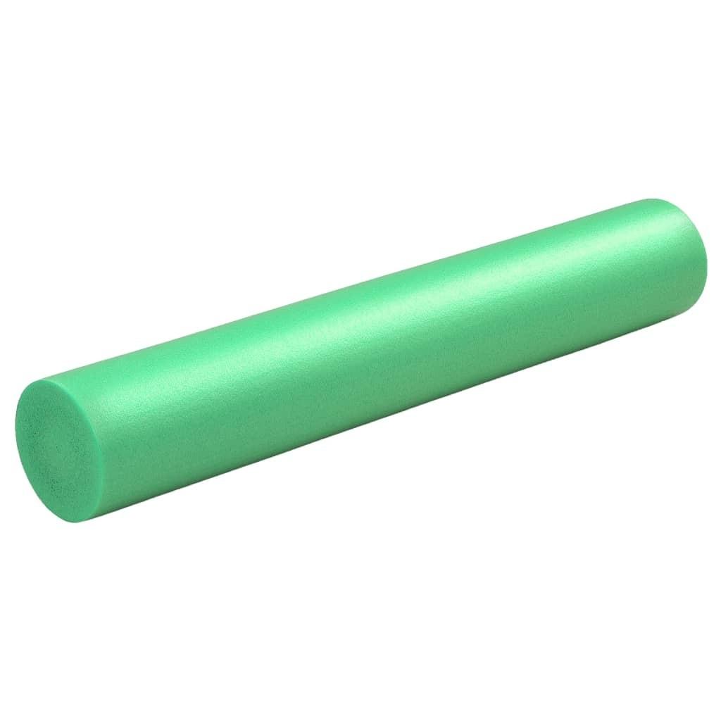 Yoga foam roller 15 × 90 cm EPE green