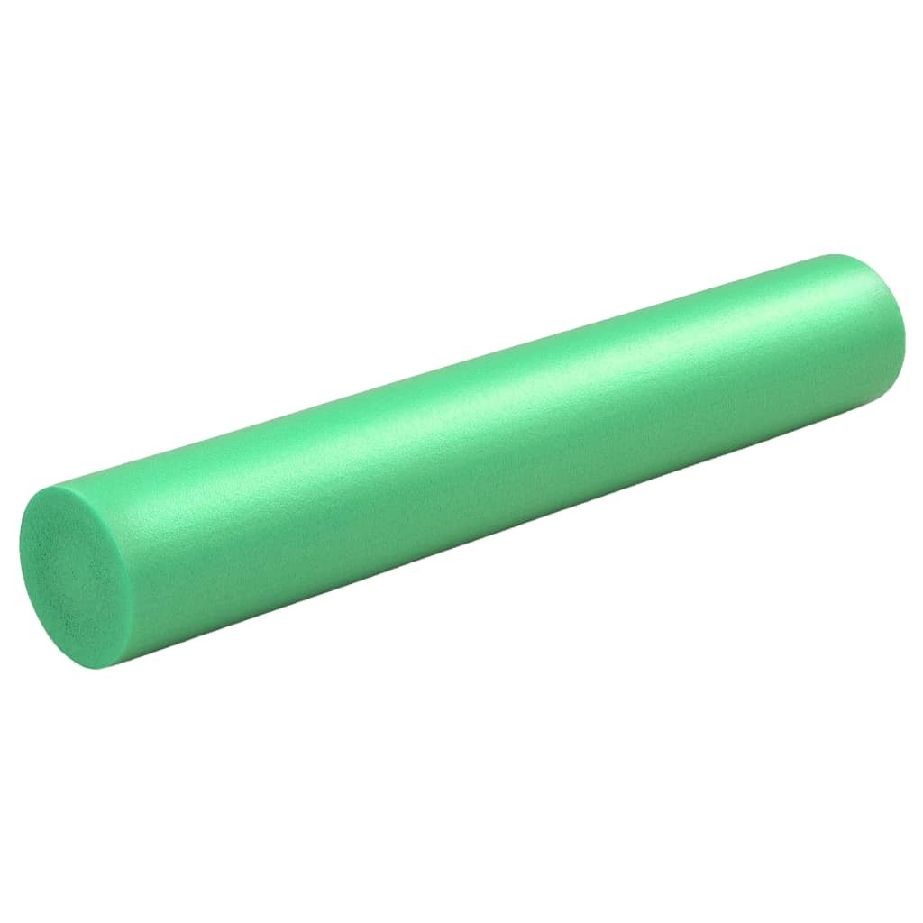 Yoga Foam Roller 15x90 cm EPE Green