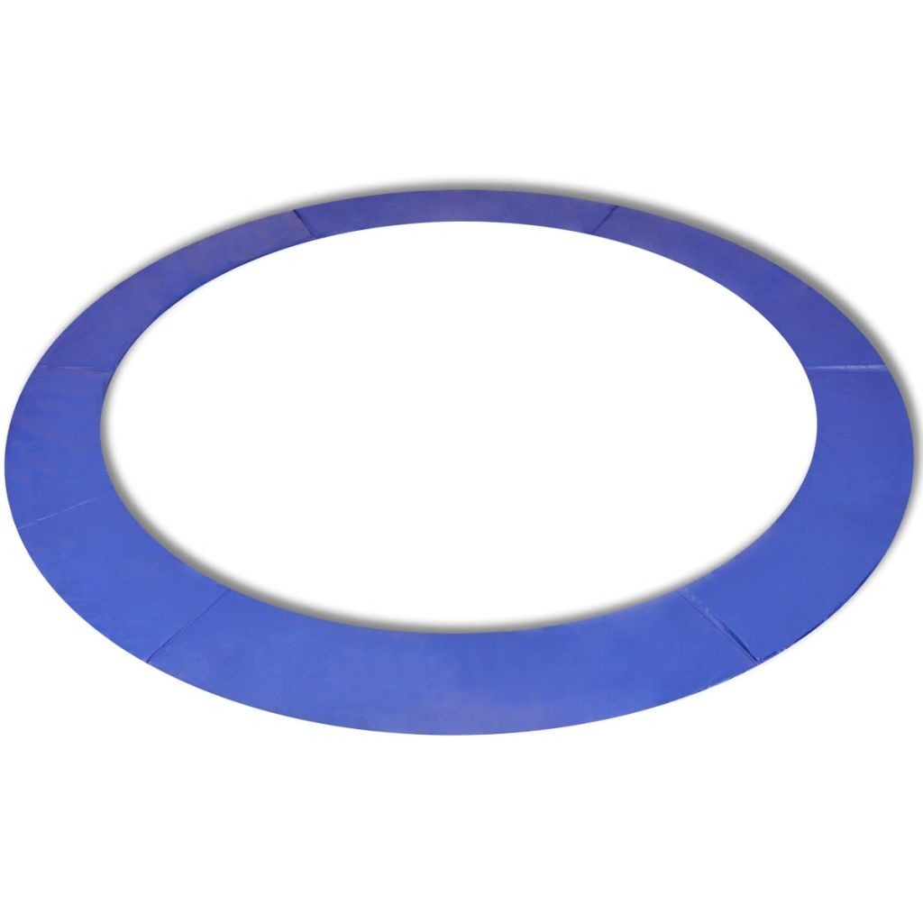 PE Round Trampoline Safety Cushion 13 Feet / 3.96 m Blue