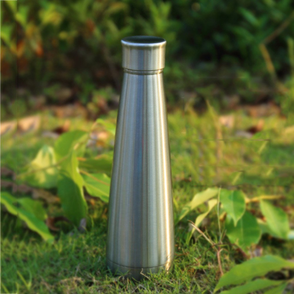 Water Bottle Stainless Steel 450ml Vacuum Insulated Water Bottle Keeps Cold Hot for 24 hours