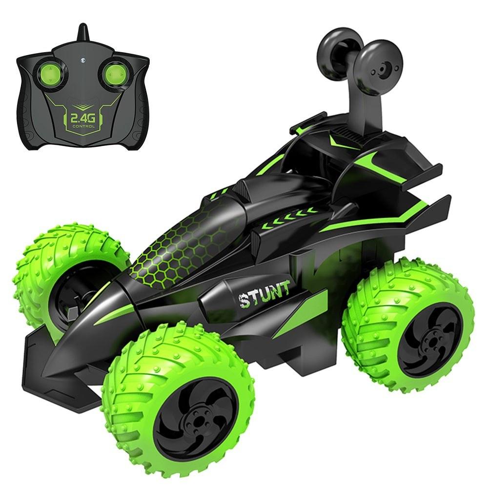 RC Stunt Car 2.4Ghz 3D Rotating Drift Stunt Car Climbing Drift Deformation Buggy Car Flip Kids Robot Electric Boy Toys for Children