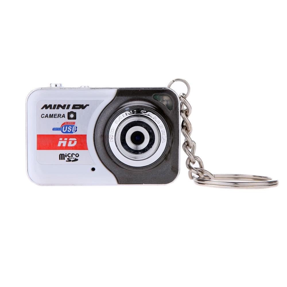 X6 Portable Ultra Mini HD High Denifition Digital Camera Mini DV Support 32GB TF Card with Mic