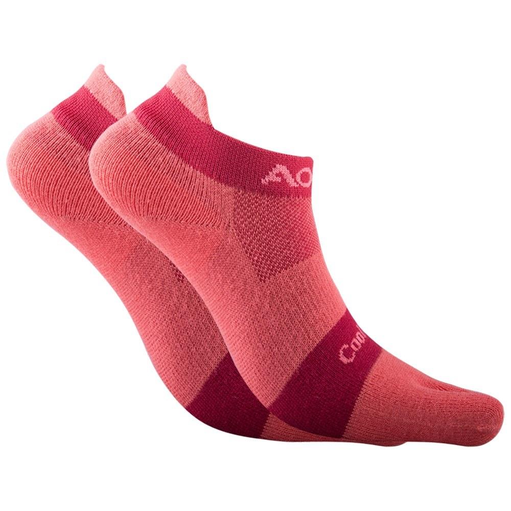 1 Pair Socks Athletic Toe Socks Five Finger Socks Breathable Absorbent Running Fitness Cycling Sports Socks for Men Women