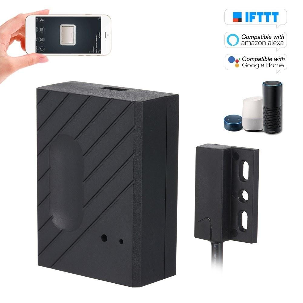 WiFi Smart Switch Garage Door Controller Compatible Garage Door Opener Smart Phone Remote Control APP