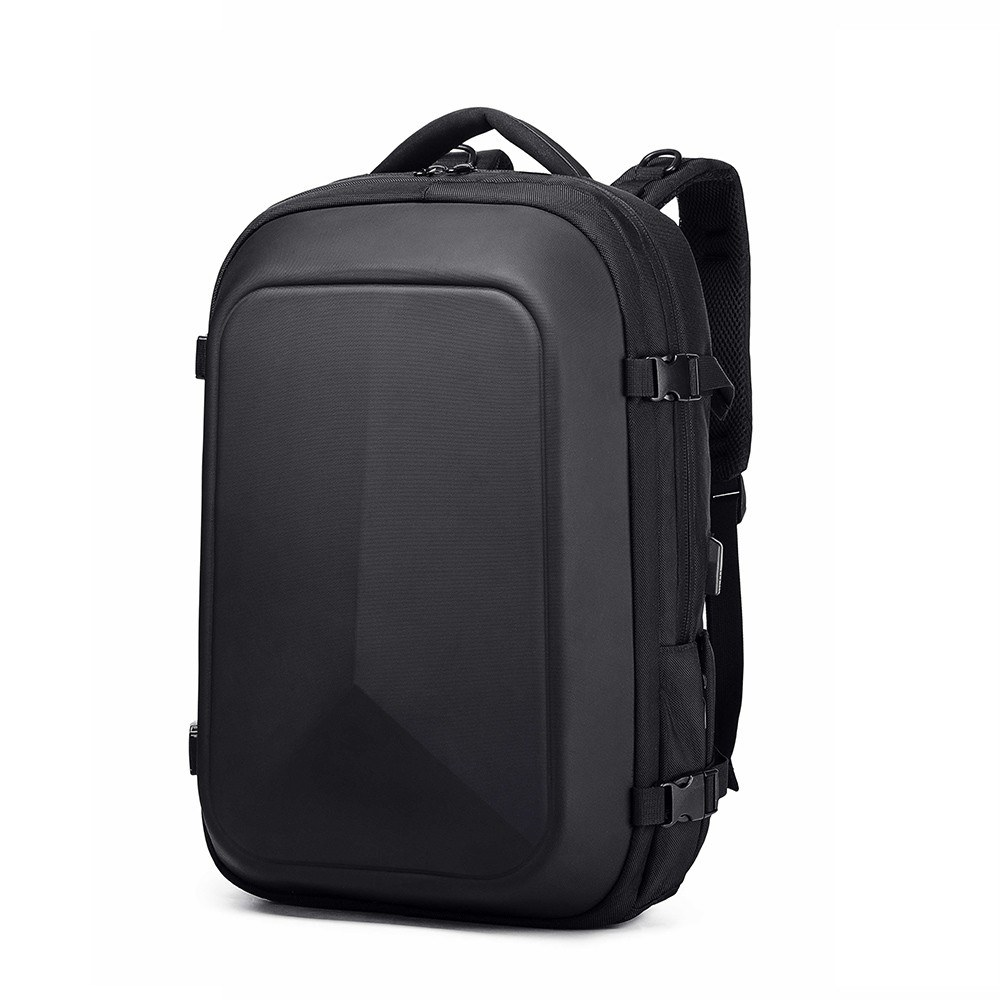 ozuko Portable Large Capacity Multi-Function Man Backpack USB Business Laptop Waterproof Anti-Theft Travel Backpack