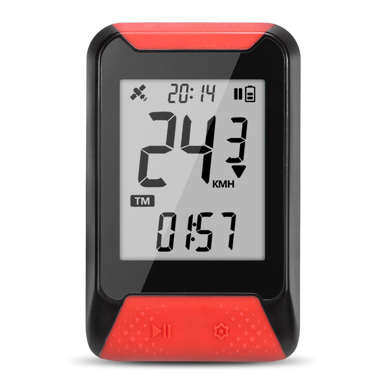 Smart GPS Cycling Computer Bike Wireless Digital Speedometer Auto Backlight IPX7 Accurate Bike Computer Odometer