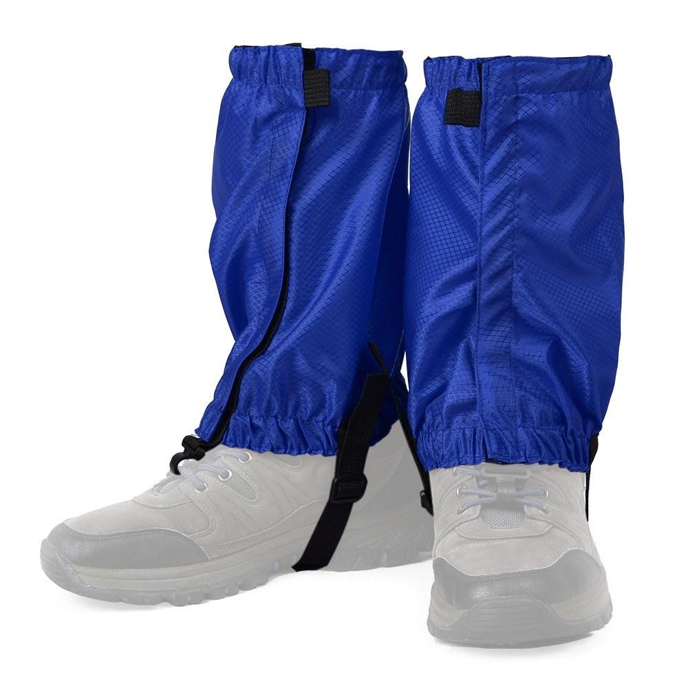 1 Pair Water Resistant Leg Gaiters Women Men Low Gaiters Leg Cover Protection Guard for Camping   Walking Hiking Climbing