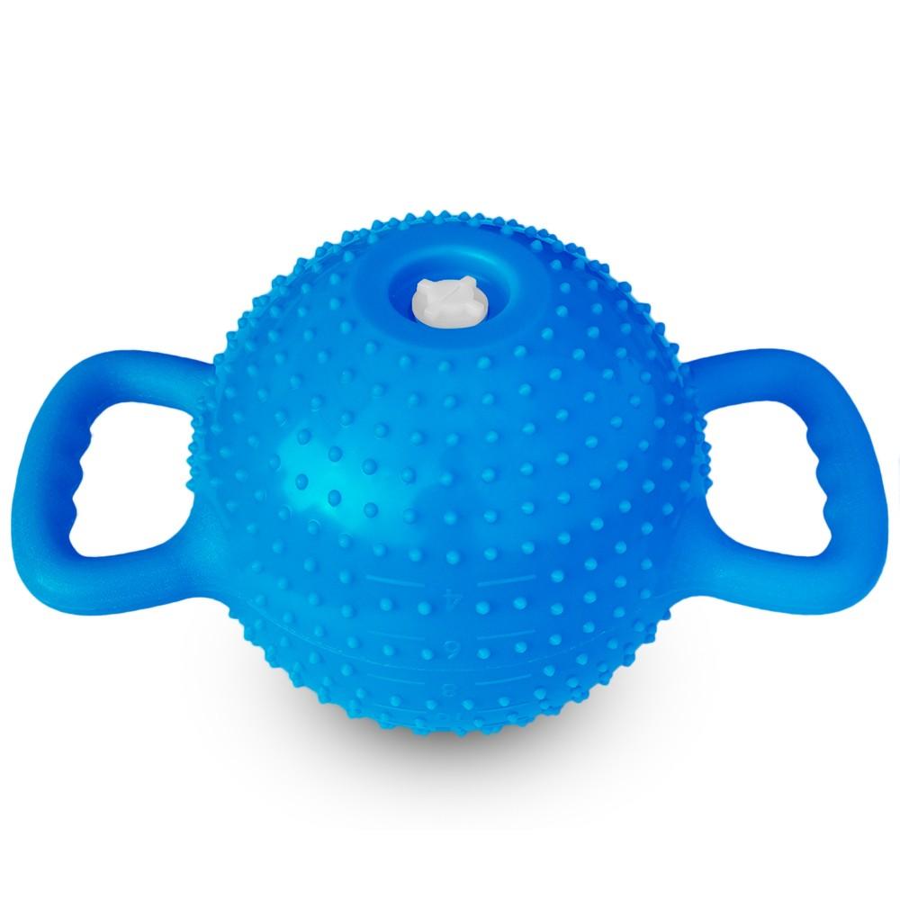 Yoga Fitness Kettle Bell 4-12LB Adjustable Kettlebell Women Massage Water Dumbbell Double Handles Pilates Fitness Body Shaping Equipment