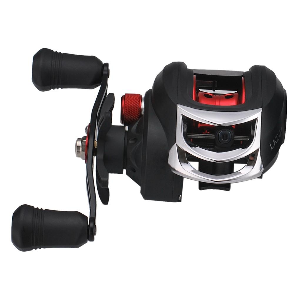 Lightweight High Speed 7.1:1 Gear Ratio Baitcast Fishing Reel 17+1 Ball Bearings Baitcasting Fishing Reel Baitcaster Tackle
