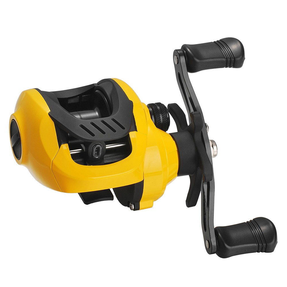 Lightweight High Speed 7.2:1 Gear Ratio Baitcast Fishing Reel 17+1 Ball Bearings Baitcasting Fishing Reel Baitcaster Tackle