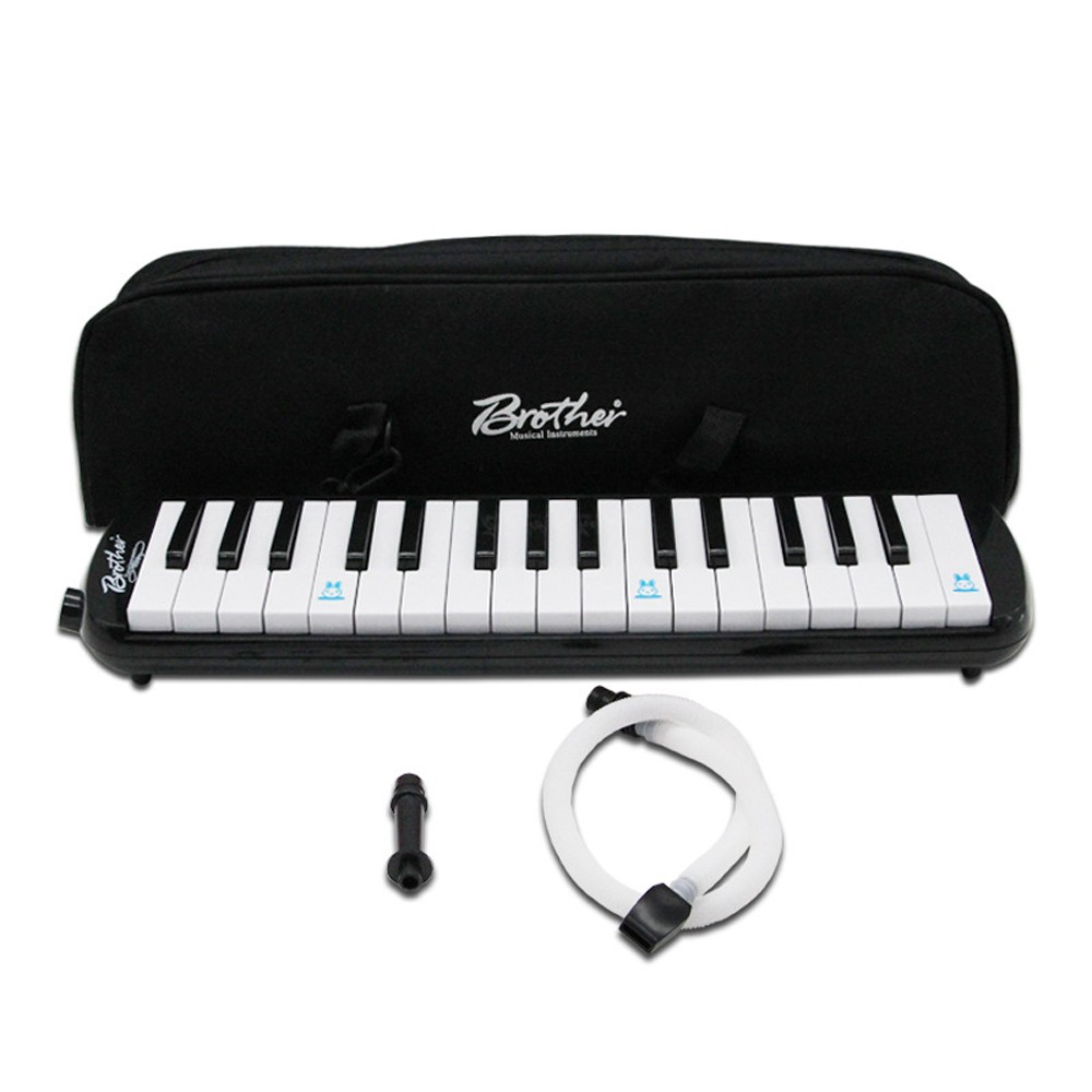 Piano Style 32 Keys Melodica Children Students Beginners Musical Instrument Harmonica Mouth Organ Portable Harmonica Pianica