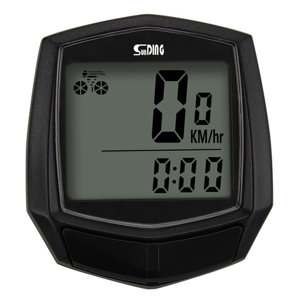 Cycling Computer Wired Type Bike Computer Rainproof LCD Screen Bicycle Computer