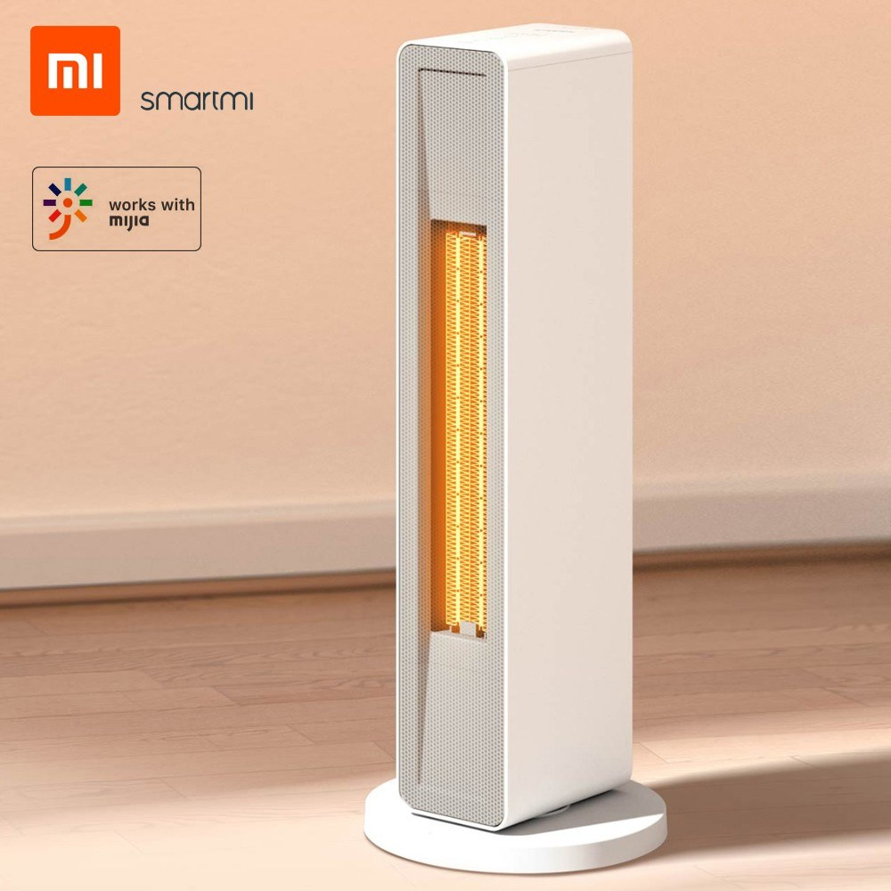 Xiaomi Smartmi Smart Electric Heater Household Winter PTC Ceramic Heating   Warmer Warm Air Fan APP Control Timing With Remote Controller Low Noise for Office Bedroom Home 2000W 220V