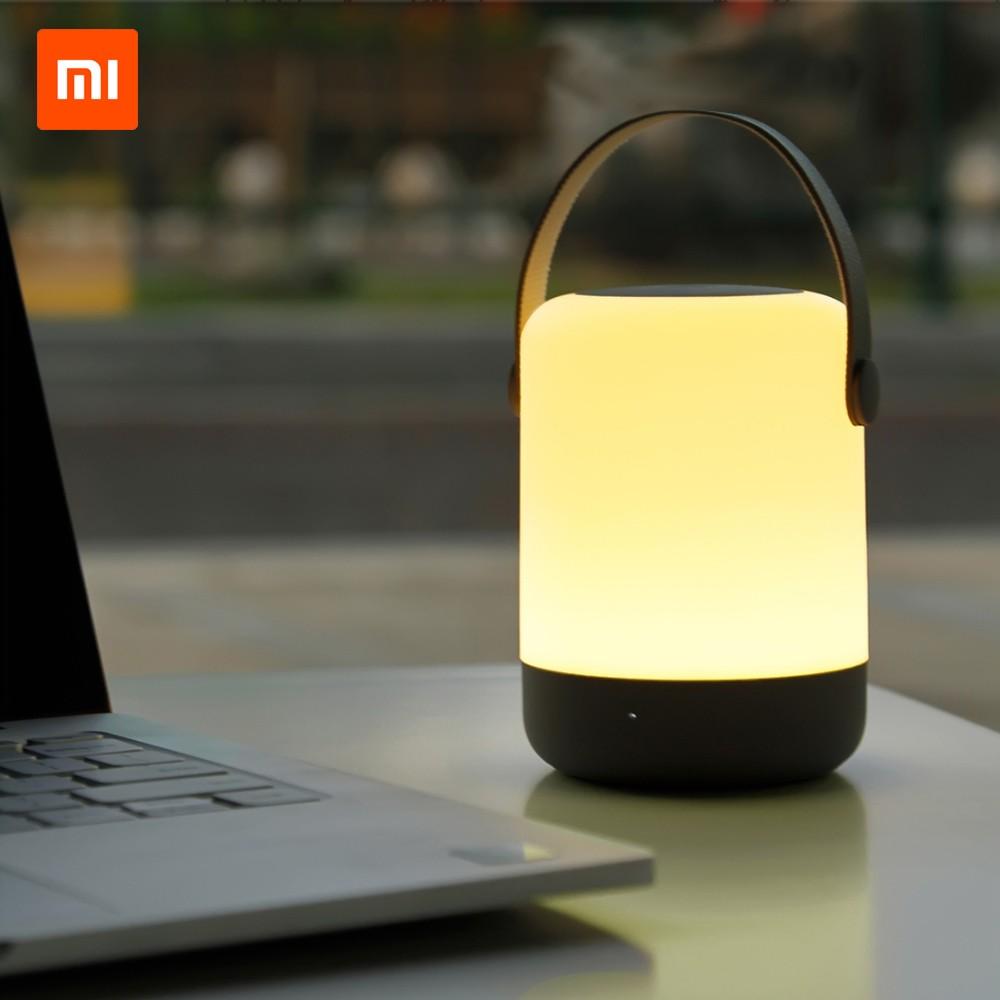 Xiaomi Youpin Zhiji Night Light LED Bedside Lamp Desktop Sleep Light Rechargeable Light Support Wireless Charging 3000-4000K