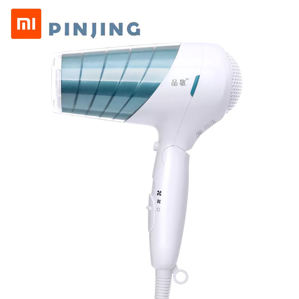 Xiaomi SOOCAS Pinjing Electric Hair Dryer Fast Hair Drying Blower 1800W Quick Drying 6 Speeds Foldable Safety Temperature Protection 220V EH1