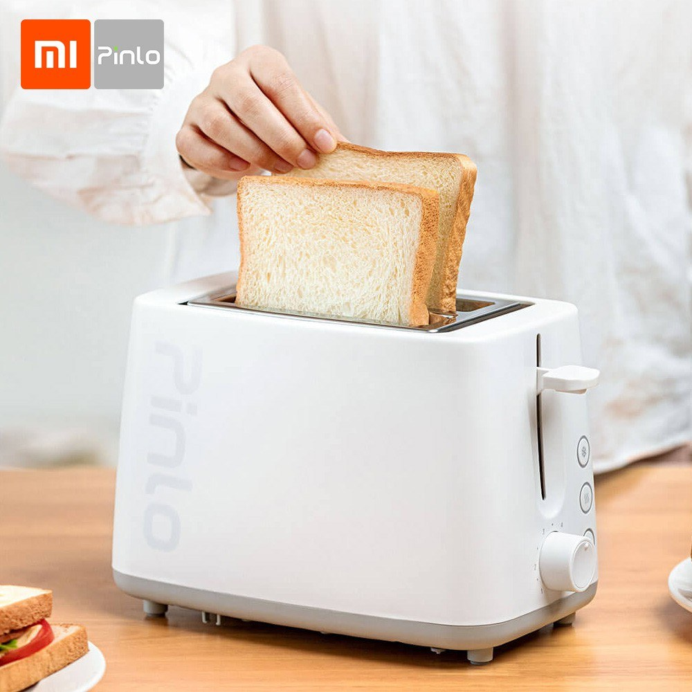 Xiaomi Pinlo Bread Toaster Electric Bread Baking Maker Machine for Breakfast Sandwich Reheat Kitchen Toast 6 Time Gears 750W 220V