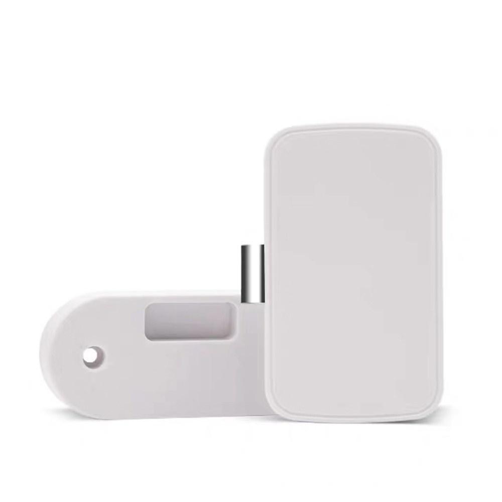 Intelligent BT App Drawer Lock Adhesive BT Lock Filing Cabinet Wardrobe Shoe Cabinet Letter Box Lock White T1