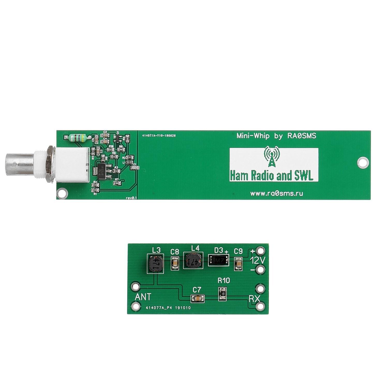Mini-Whip HF VLF Active RX Antenna 10KHz to 30MHz DIY Kit