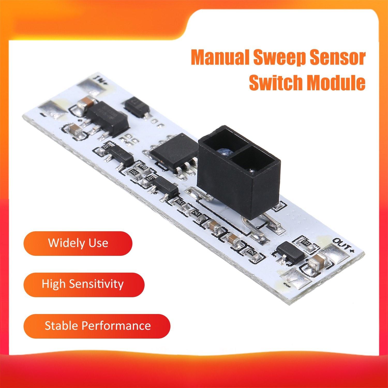 Hand Sweep Sensor Switch Module Wardrobe Short Distance Scan Sensor Electronic Components Sensor Board Module