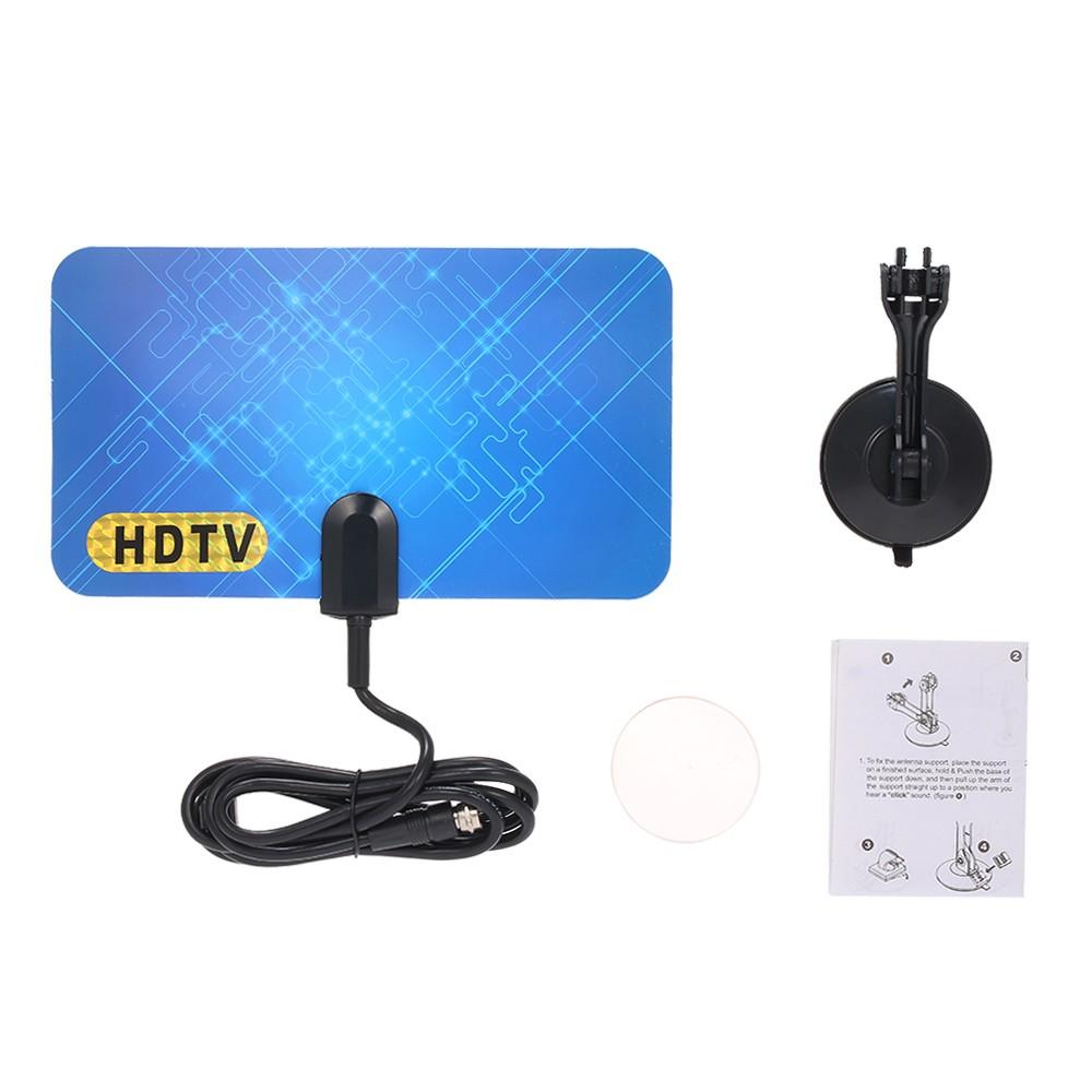 LAN-1030 Indoor Digital TV Antenna HDTV Antenna 470-860MHz with Converter General Model