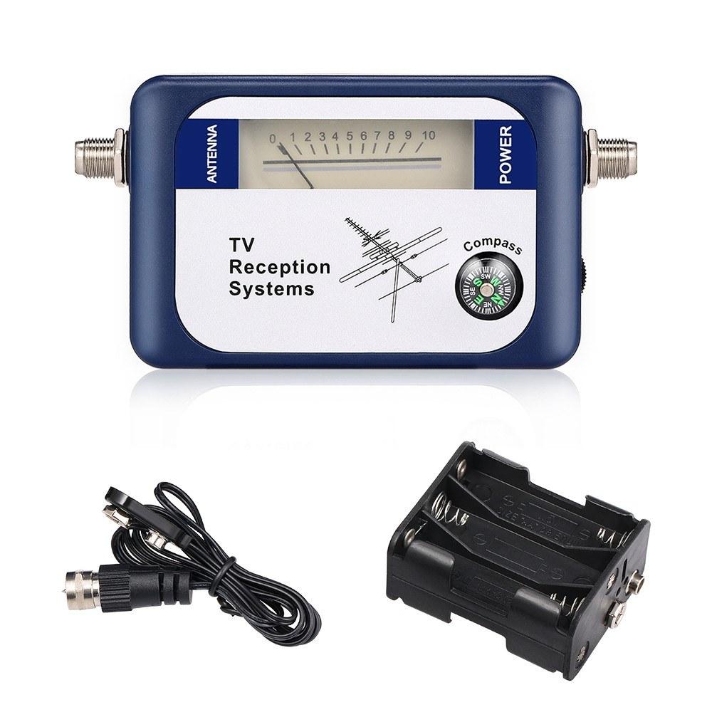 95DTL DVB-T Signal Finder Digital Satellite Signal Finder TV Receiver with Compass Pointer