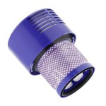 Vacuum Replacement Filter Post Filters HEPA Motor Filter for Dyson V10 Series Stick Vacuum Cleaner Handheld Rear Filters Replace Part Back Filter for Dyson