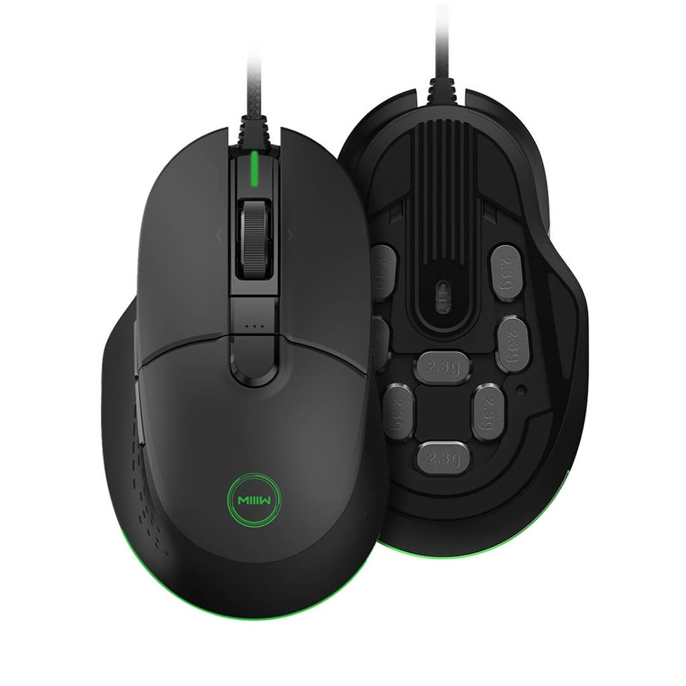 xiaomi MIIIW 700G RGB Colorful Wired Gaming Mouse 6 Buttons 7200DPI Ergonomic Gamer PC Mouse