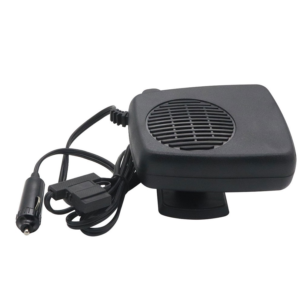Car Defogger 12V Portable Vehicle Fogbroom Warming Heatig Air Fast Defrosting with Fuse Double-sided Tape Installation 1.55 Meters Wire