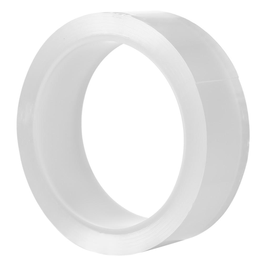 Waterproof Adhesive Tape Caulk Strip No Residual Glue Tape Transparent Adhesive Tape PMMA Self Adhesive Waterproof Repair Tape for Bathtub Bathroom Shower Toilet Kitchen and Wall Mildew Sealing