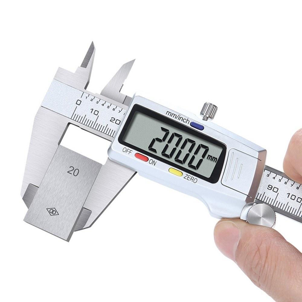 Stainless steel vernier caliper electronic digital caliper high precision 0-150mm