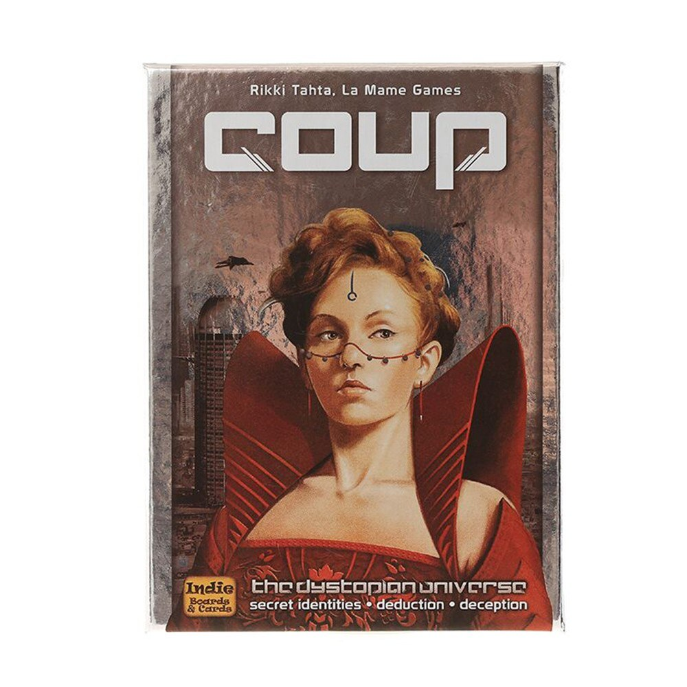 Explosion Classic Board Game Coup Game English Version of The City Rebellion Coup Board Game Cross-border Exclusive