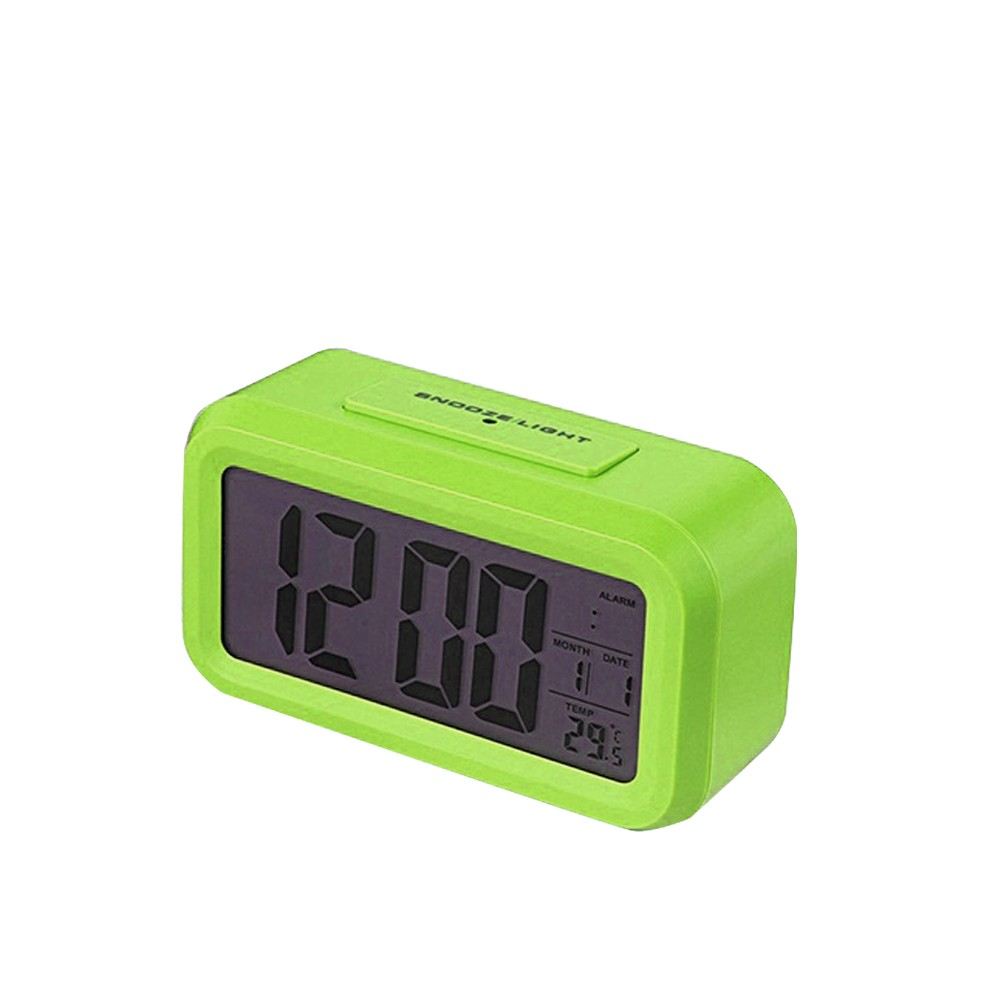 Children Bedside Clock Smart Nightlight Table Electronic Clock Large Screen Digital Clock