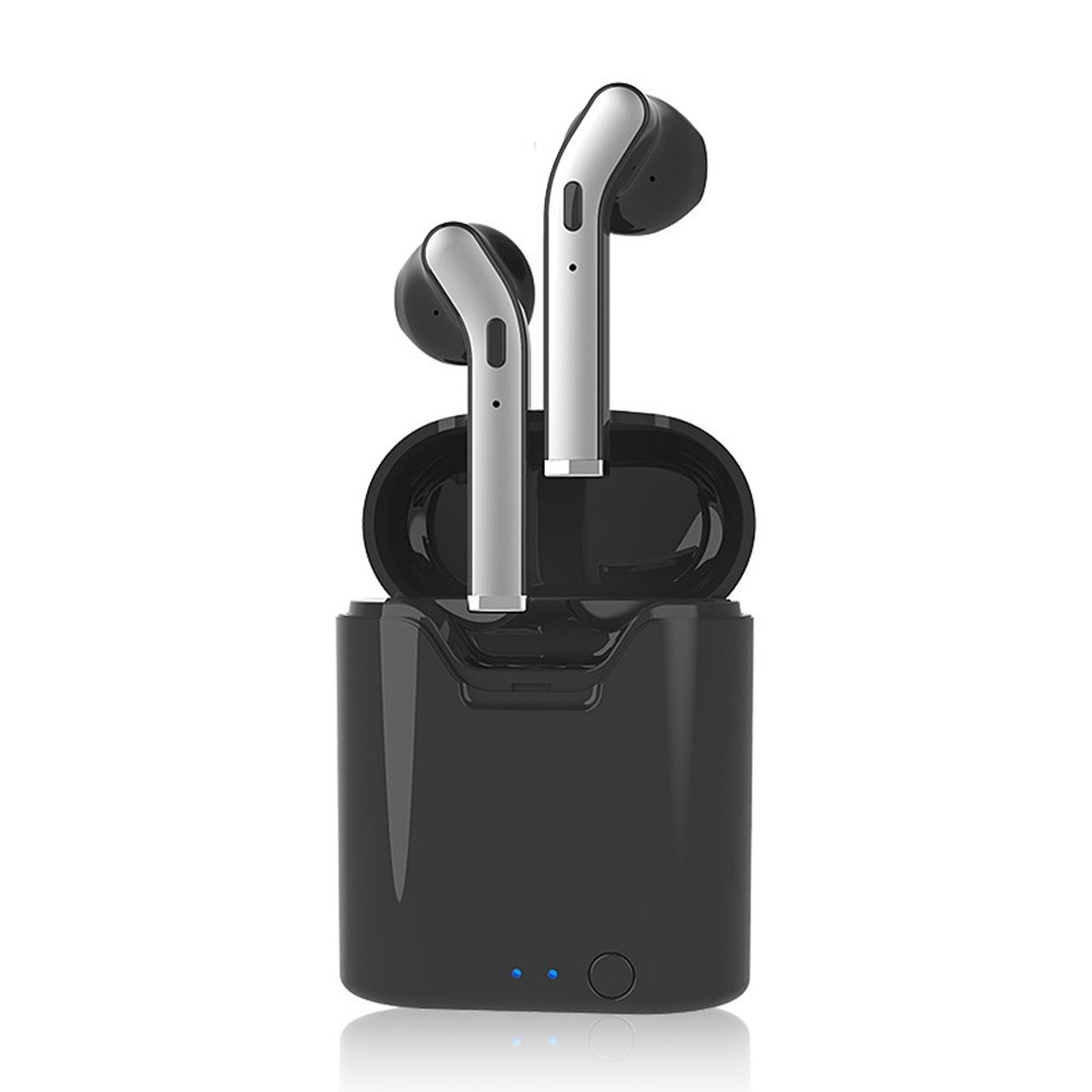 TWS True Wireless Bluetooth Headphones with Mic Wireless Earphones Invisible Touch Control Sports Headset with 350mAh Charging Case