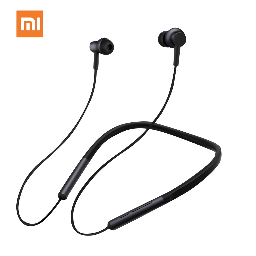 Xiao-mi Headset LYXQEJ01JY BT Earphones Necklace Earbuds