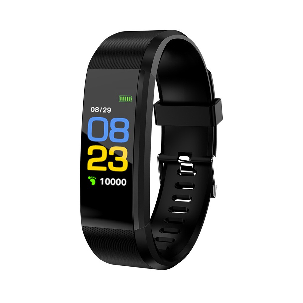 Color screen 115plus smart bracelet sports step heart rate sleep sedentary factory direct gift Excellent live-green