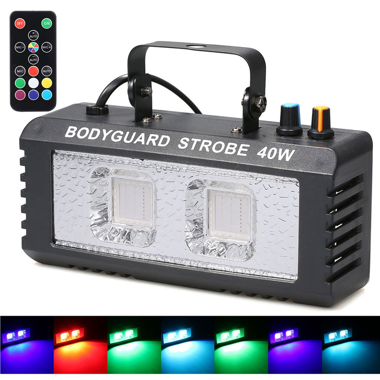 Stage Light Disco Party Lights Sounds Active Music Center Strobe Lamp for Home Wedding Party Dance DJ Club