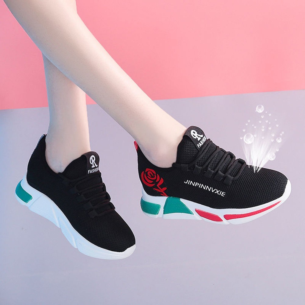Women's sports shoes students breathable running shoes casual shoes