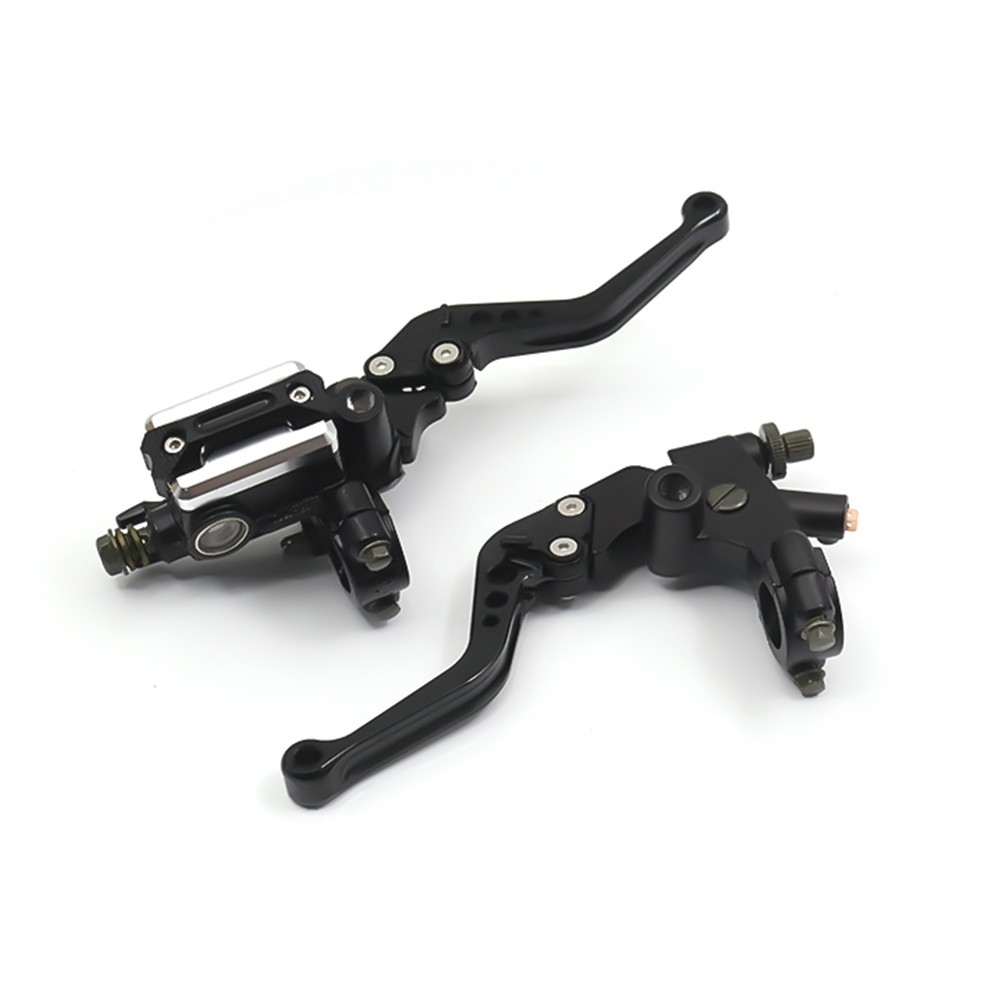 Universal Motorcycle Brake Clutch Pump Lever Hydraulic Master Cylinder Accessories 7/8