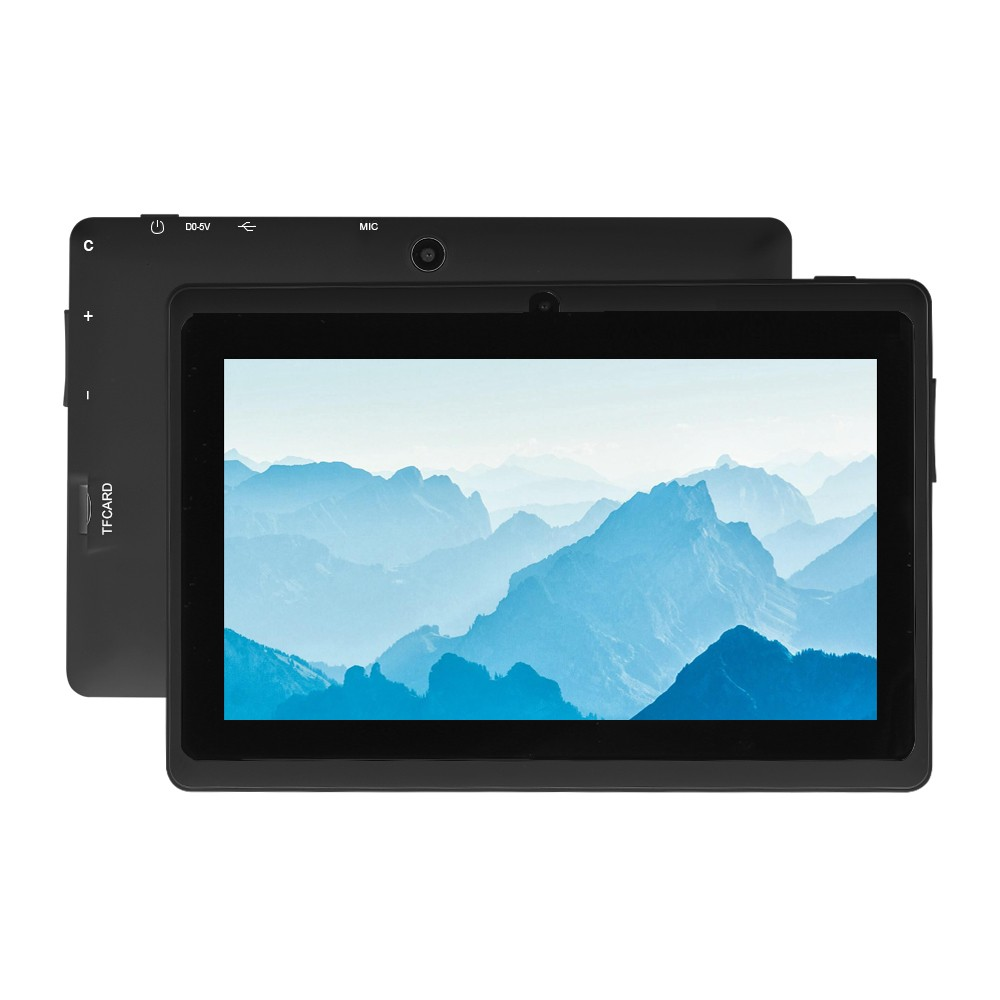 Q8 Mali-400 MP2 7inch Quad-core 1.3GHZ Tablet PC 3G Wifi Business Computer Android 4.4 OS Black EU Plug