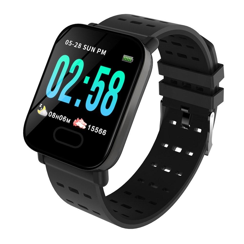 Smart Watch Bluetooth Sports Bracelet Heart Rate Sleep Blood Pressure Monitoring APP Control IP67 Waterproof for Outdoor Sports Multi-sport Modes