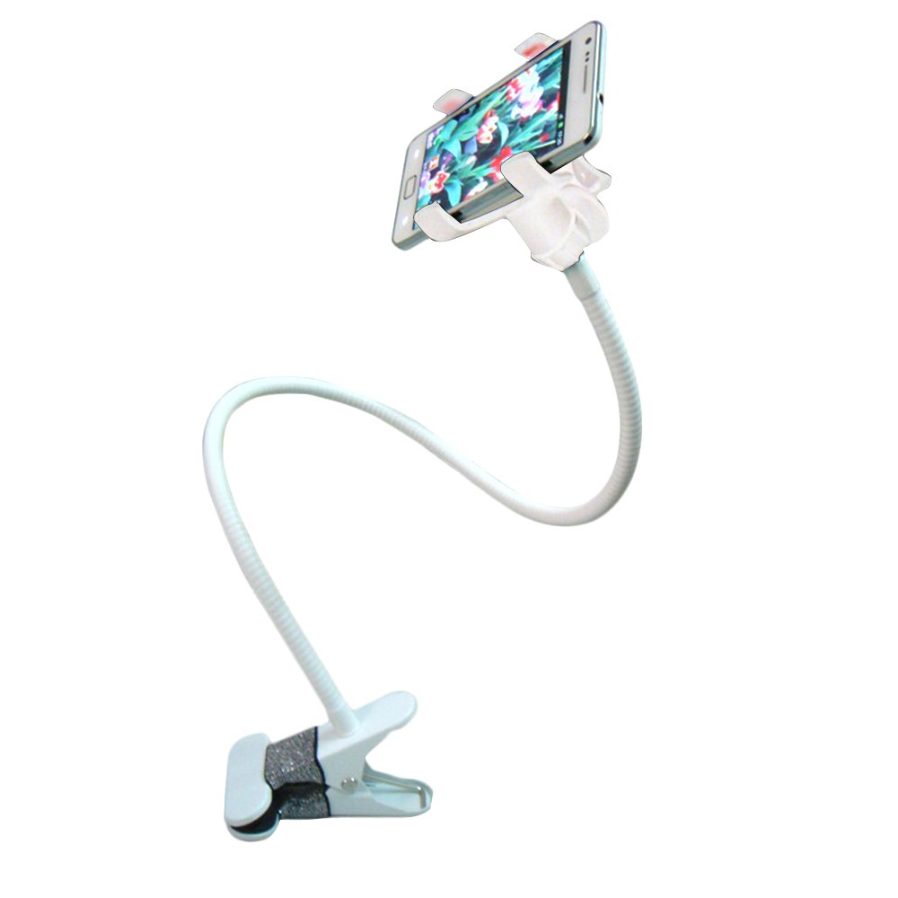 Portable Mobile Phone Bracket Clip-on Smartphone Mount Holder Metal Bracket 360° Rotation Design