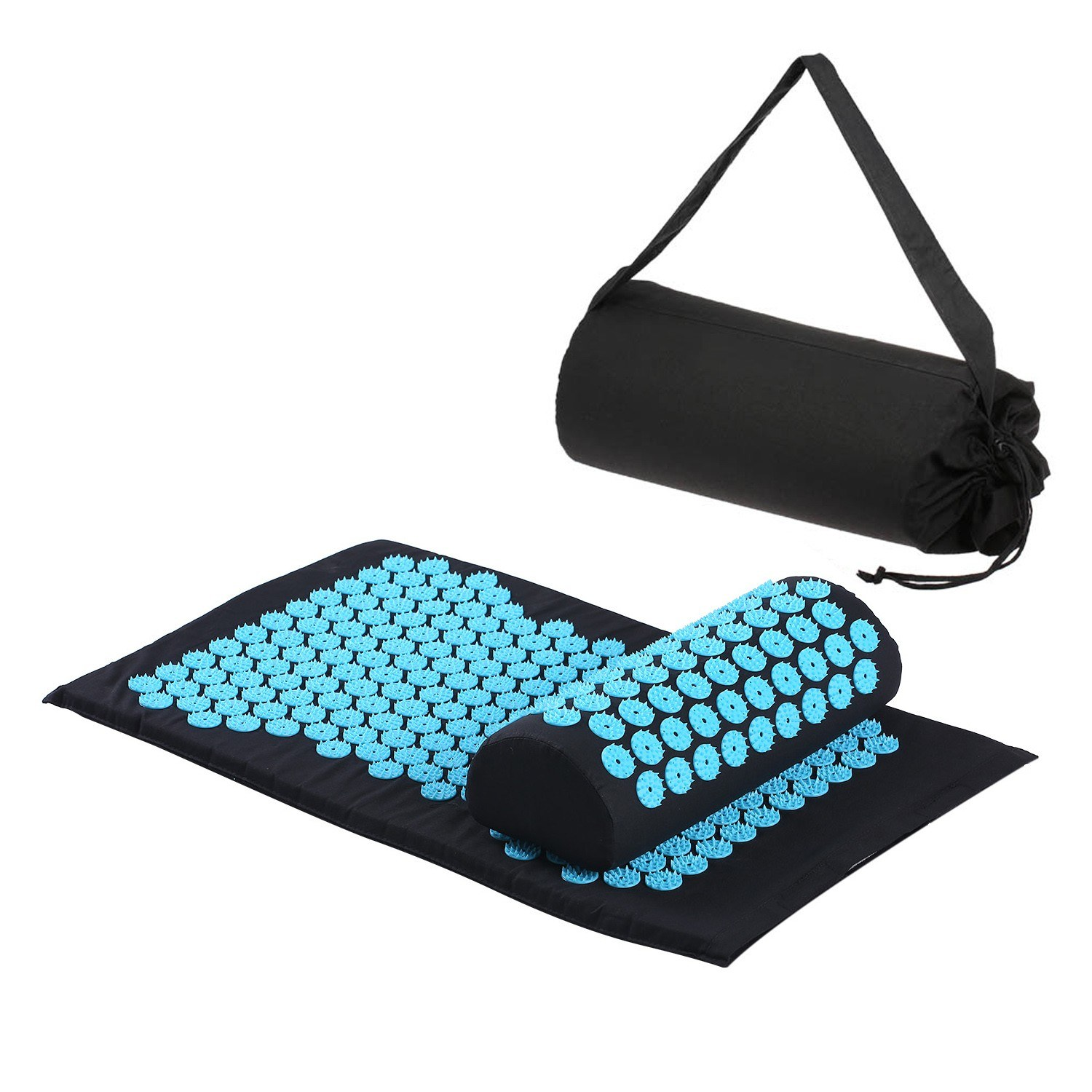 Acupressure Mat and Pillow Set Massage Mat Spike Acupuncture Pad Acupressure Cushion