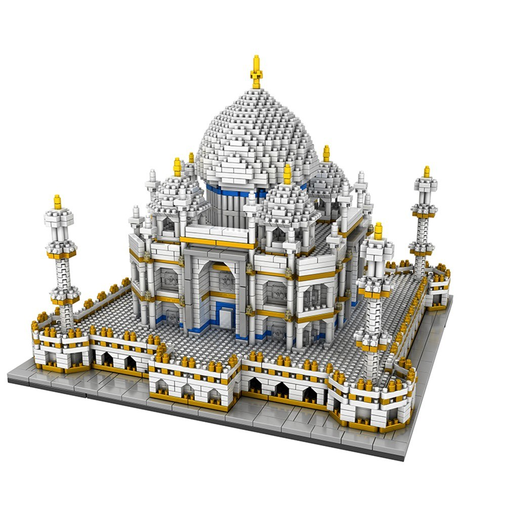 9914 Model Taj Mahal Atomic Building Blocks Kit 3950pcs Gift Toy for Kids